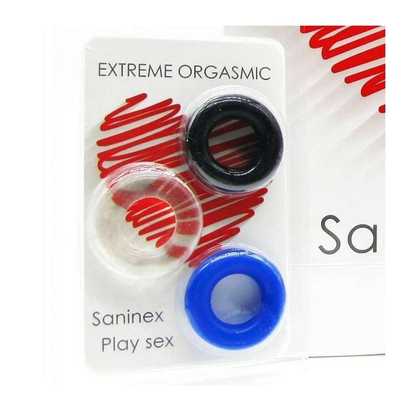 SANINEX ANILLOS EXTREME ORGASMIC