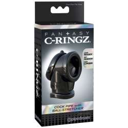 FANTASY C RINGZ COCK PIPE WITH BALL STRECH